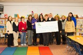 ELPS Librarians receiving grant