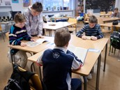 כמות הילדים בכיתה לא עולה על 15 ילד
