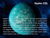 Kepler 22b's some other facts