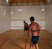 Professional Squash Court