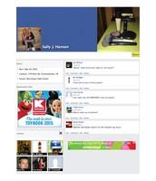Sally Hansen Fake Facebook