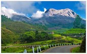A Beautiful Mountain In Kerala