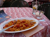 Typical foods served by Italian immigrant