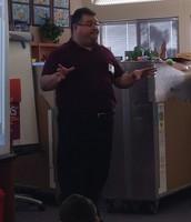 Xavier Garza Author Visit