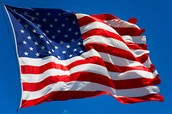 Since it's on Flag Day-Wear your Red, White and Blue!