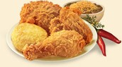 2 Piece Bonafied chicken