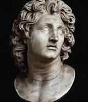An original sculpture of Alexander the Great