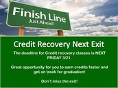 Credit Recovery News!!!!