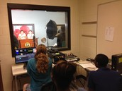 BMS news crew technology room view