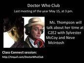 Dr. Who club
