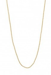 """30"""" Faceted Ball Chain - Gold"""