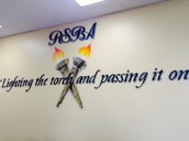 Painting in one of our classrooms