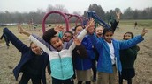 Mr. Lowry's Class on the Playground