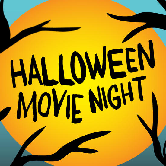 Image result for movie night halloween kids