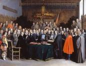 signing treaty