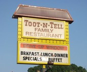 Toot-N-Tale is one of Garner, North Carolina's Hidden Gems!