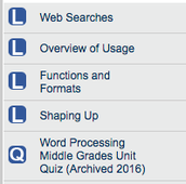 #1. Learning Word Processors