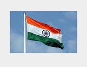 India's flag BY:Andrew R