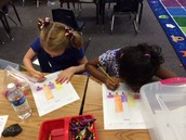 Graphing at Math stations