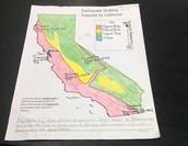 My Californa Earthquake Map