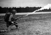 Flamethrowers and Pistols