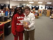 Ouita Bingham & MMS Student Participant