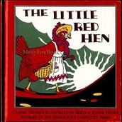 A book of the little red hen