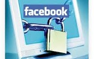 set your privcy controls on facebook