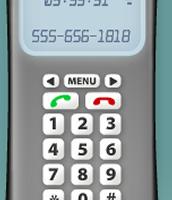gray phone