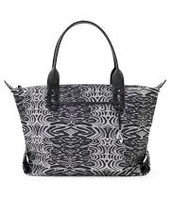 How Does She Do It Bag - Zebra