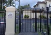 Please Use the Pedestrian Gate