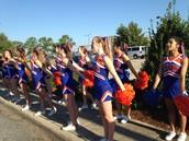 Cheering at CARC 5K