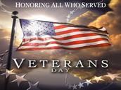 Veterans Day Presentation-Wednesday, November 11th
