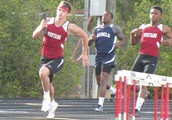 Third Leg of the WAM2 team of SEHS Mustangs 2012 track team