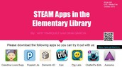STEAM Apps in the Elementary Library
