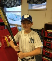 Noah as Babe Ruth