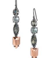 Kahlo Linear Drop Earrings Were £32 Now £16