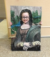 Ruth as the Mona Lisa