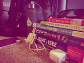 TOEFL test and SSAT test, Head Phone, Charger