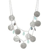 Riviera Mixed Coin Necklace