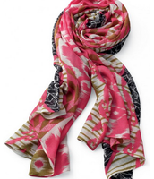 Union Square Scarf - Geo Ikat