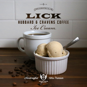 New offering exclusively in shops, Hubbard & Cravens Coffee Ice Cream!