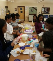 Leading Ladies decorated cupcakes and cookies under the direction of the fabulous Mrs. Walker!!!!