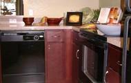 Custom Cherrywood cabinetry