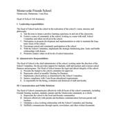 Head of School position- pg. 2