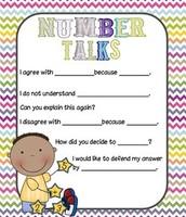 Number Talks Sentence Stems