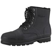 Botas con punta de acero negro
