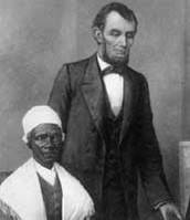 Lincoln and Sojourner