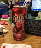 Lots of delicious Dr. pepper!