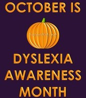 October is National Dyslexia Awareness Month!